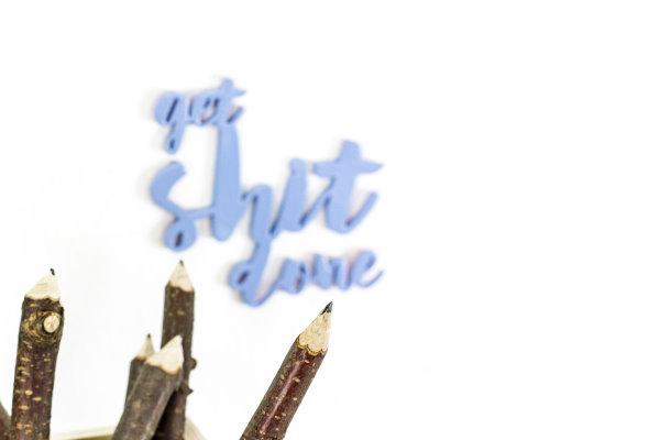 Bleistifte ganz einfach selber machen