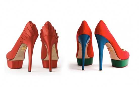 Piano Heels Shoes Design Collection