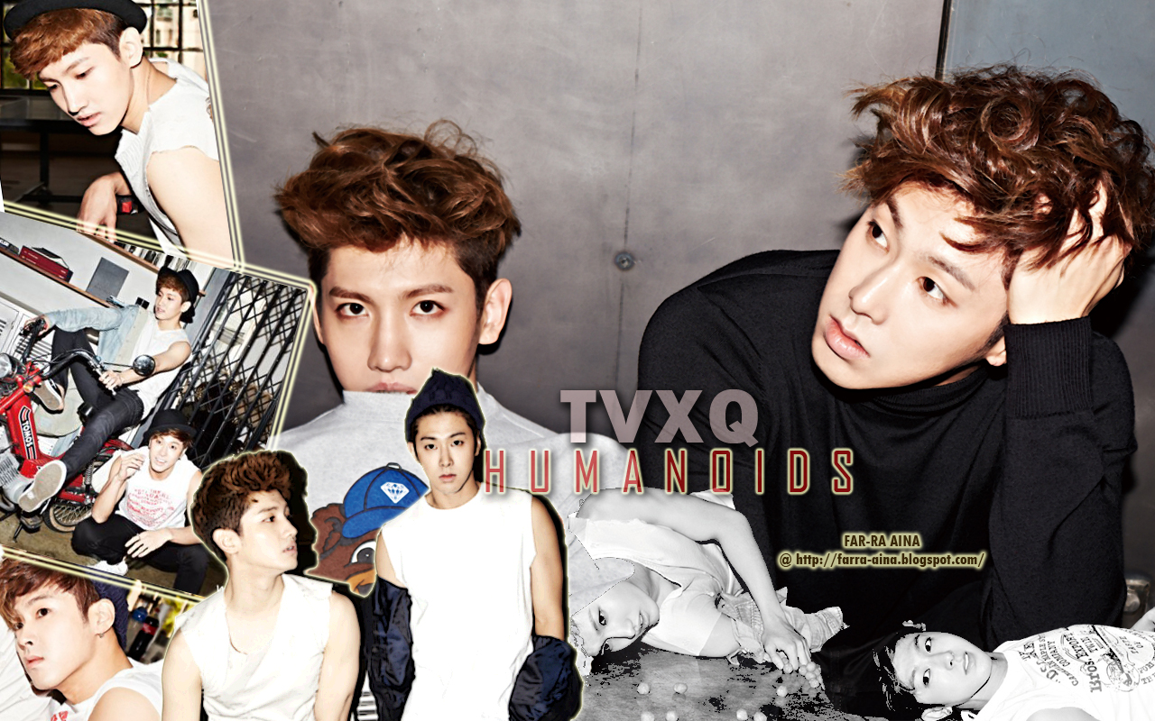 pop lover ^^: TVXQ  Humanoids WALLPAPER