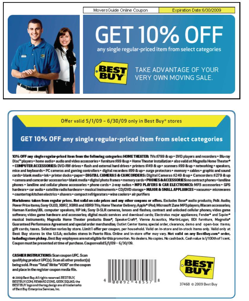 Coupon best buy online