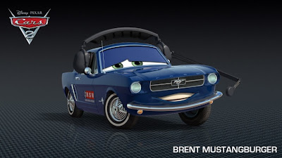 Brent Mustangburger - Cars 2