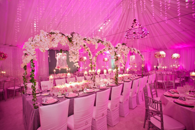 Pink Wonderland Wedding Decor - Belle The Magazine