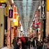 Shinsaibashi Shopping District in Osaka, Japan