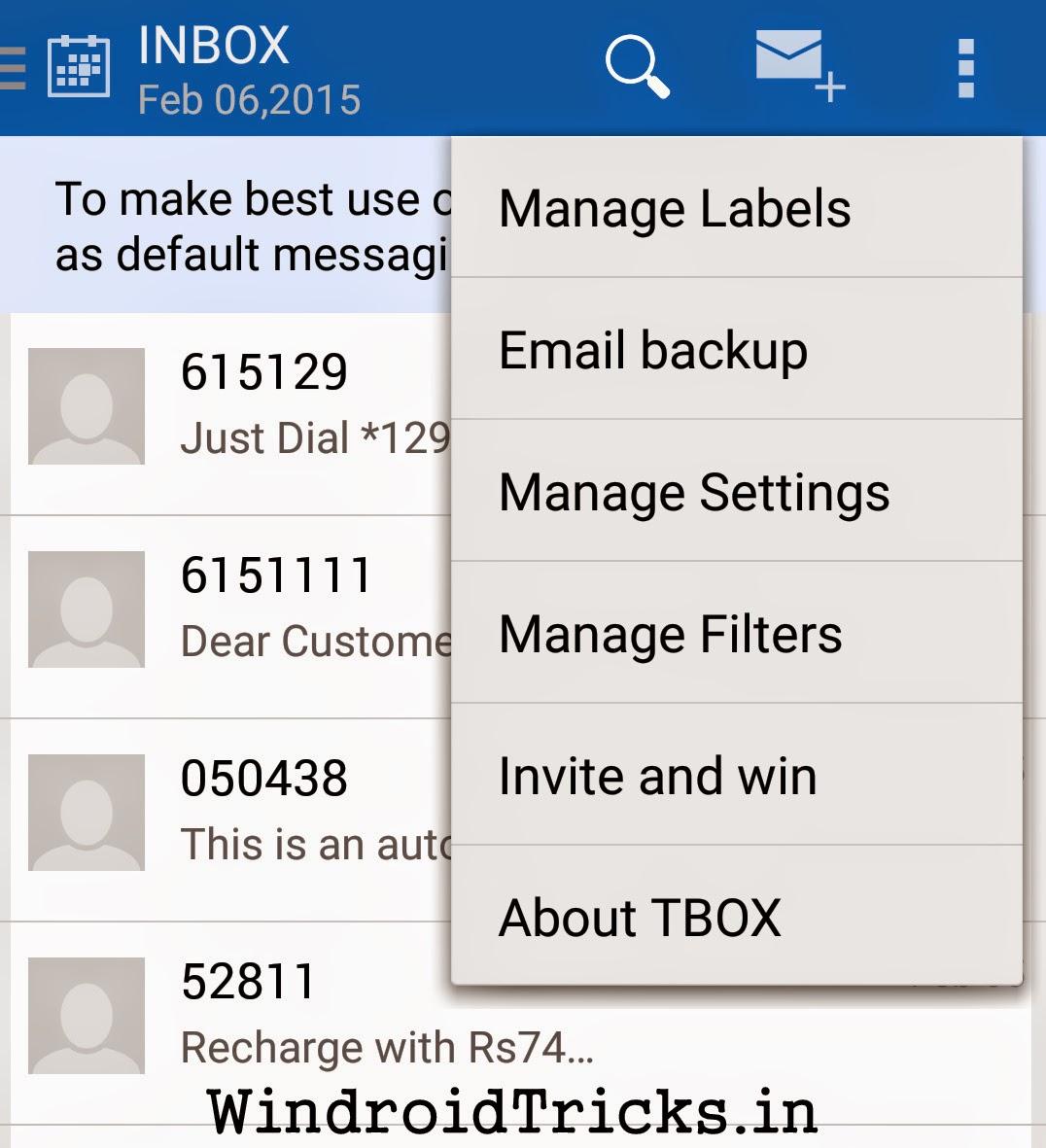 tbox invite