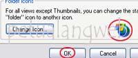 cara mengganti gambar icon folder