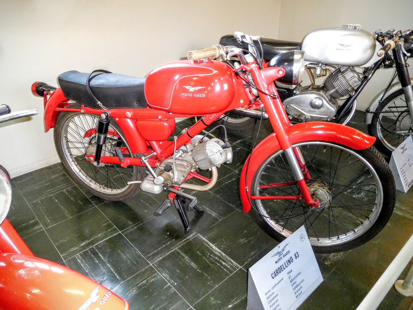 Tigho NYDucati: 1962 Moto Guzzi Cardellino 83
