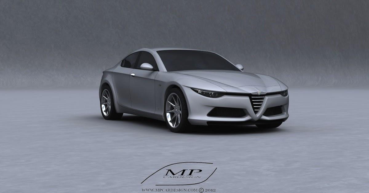 All Cars Nz 2012 Alfa Romeo Orazio Satta Four Door Coupe