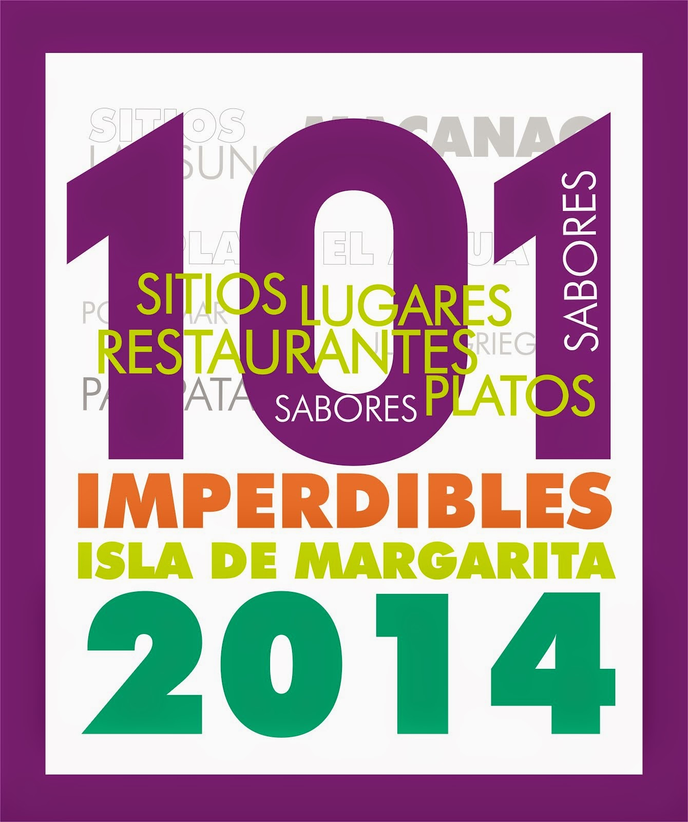 101 IMPERDIBLES DE MARGARITA 2014
