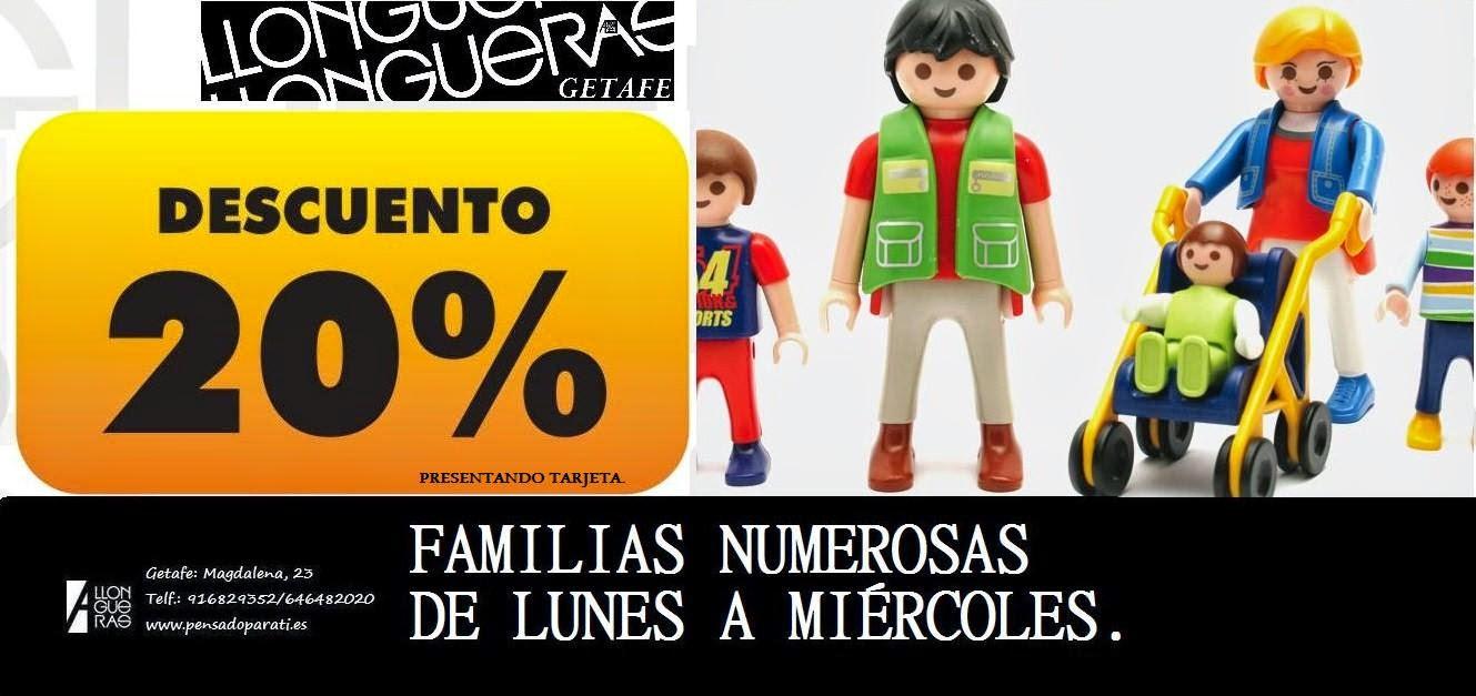 FAMILIAS NUMEROSAS