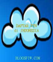 Daftar Website dan Lokasi Perguruan Tinggi Negeri di Indonesia 2015