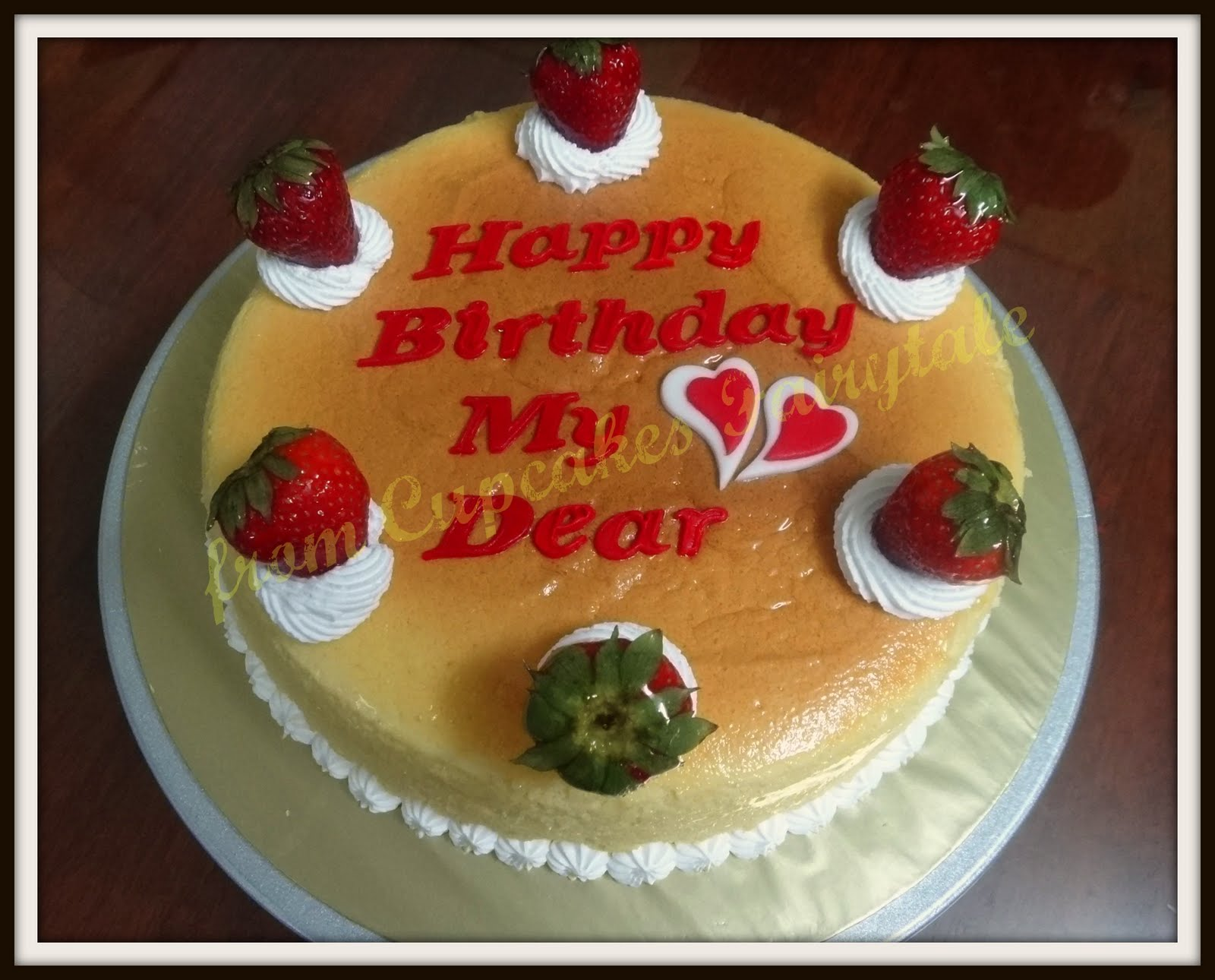 Cupcakes Fairytale Mrs Chius Birthday Cake Japanese Cottonsoft
