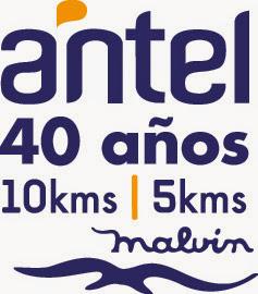 10k y 5k de club Malvín y Antel (08/nov/2014)