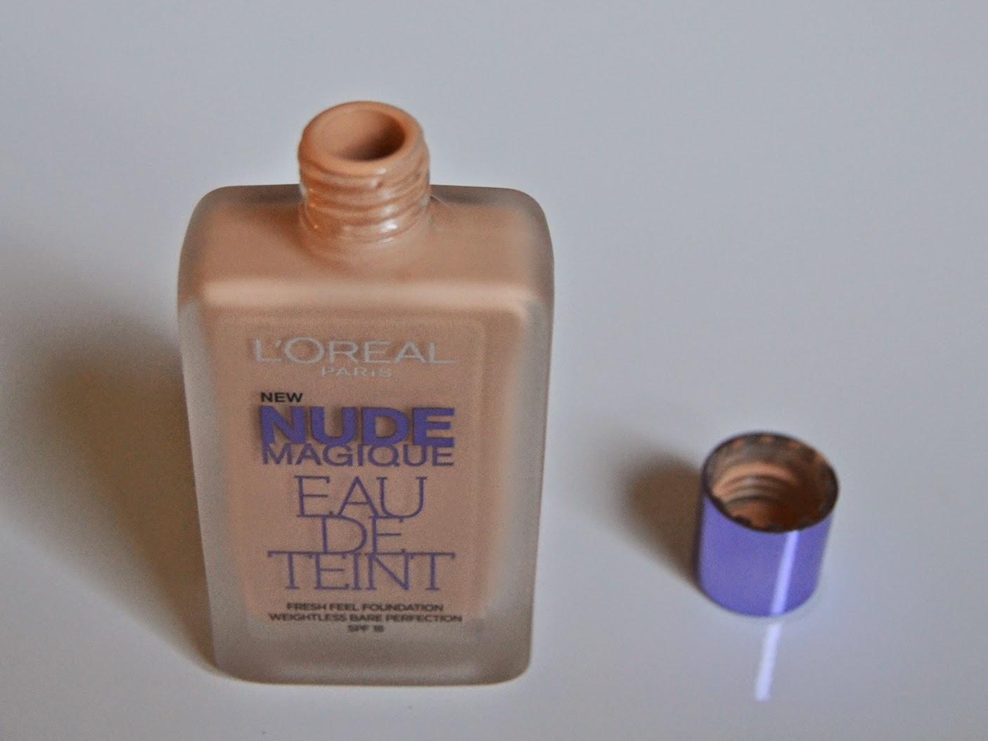 L'oréal nude magique eau de teint