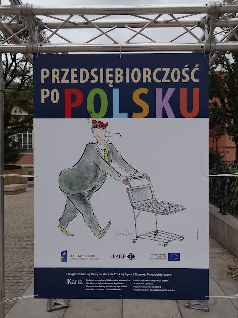 Przedsiębiorczość po polsku na skwerze Hoovera