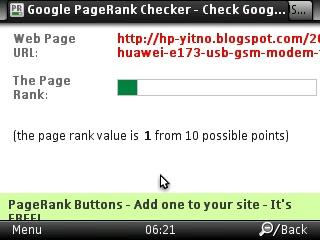 PR google tiap post tidak sama