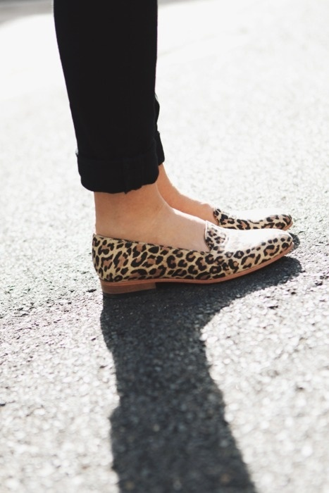 fall trend: leopard print shoes