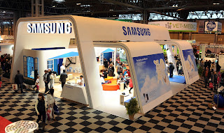 Samsung Stand at Crufts 2013