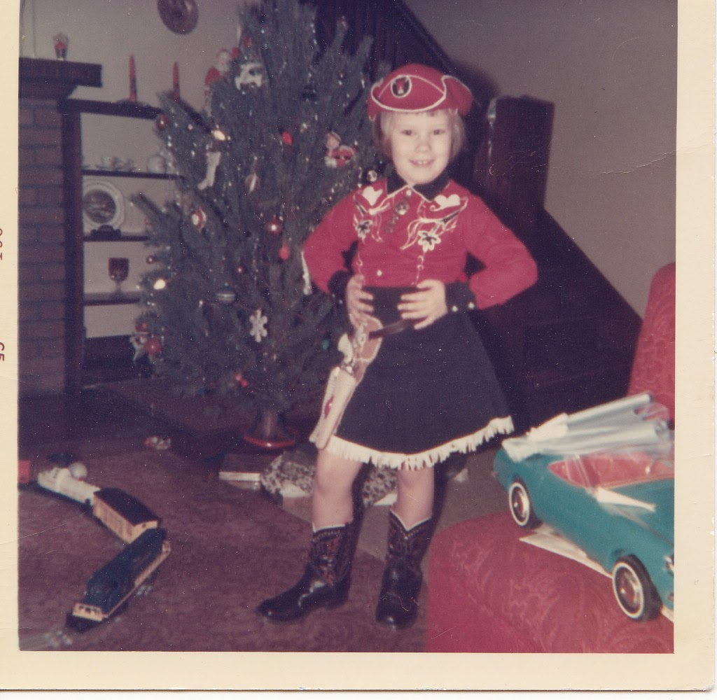 Christmas Cowgirl