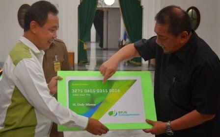 BPJS Jawa Barat Diminta Kejar Target 235