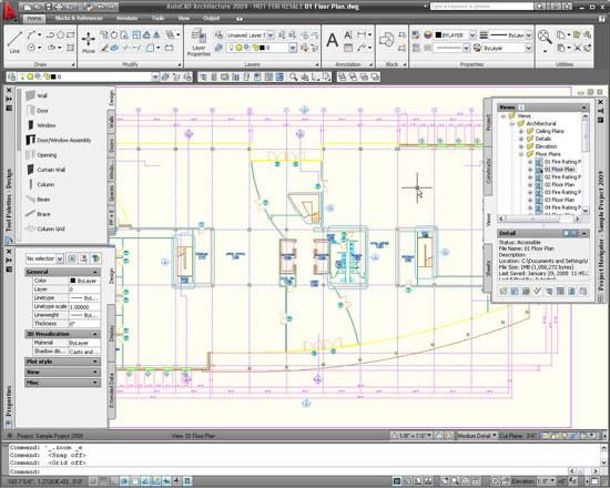 Architecture Autocad5