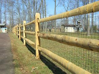 Деревянный забор. Фото 85