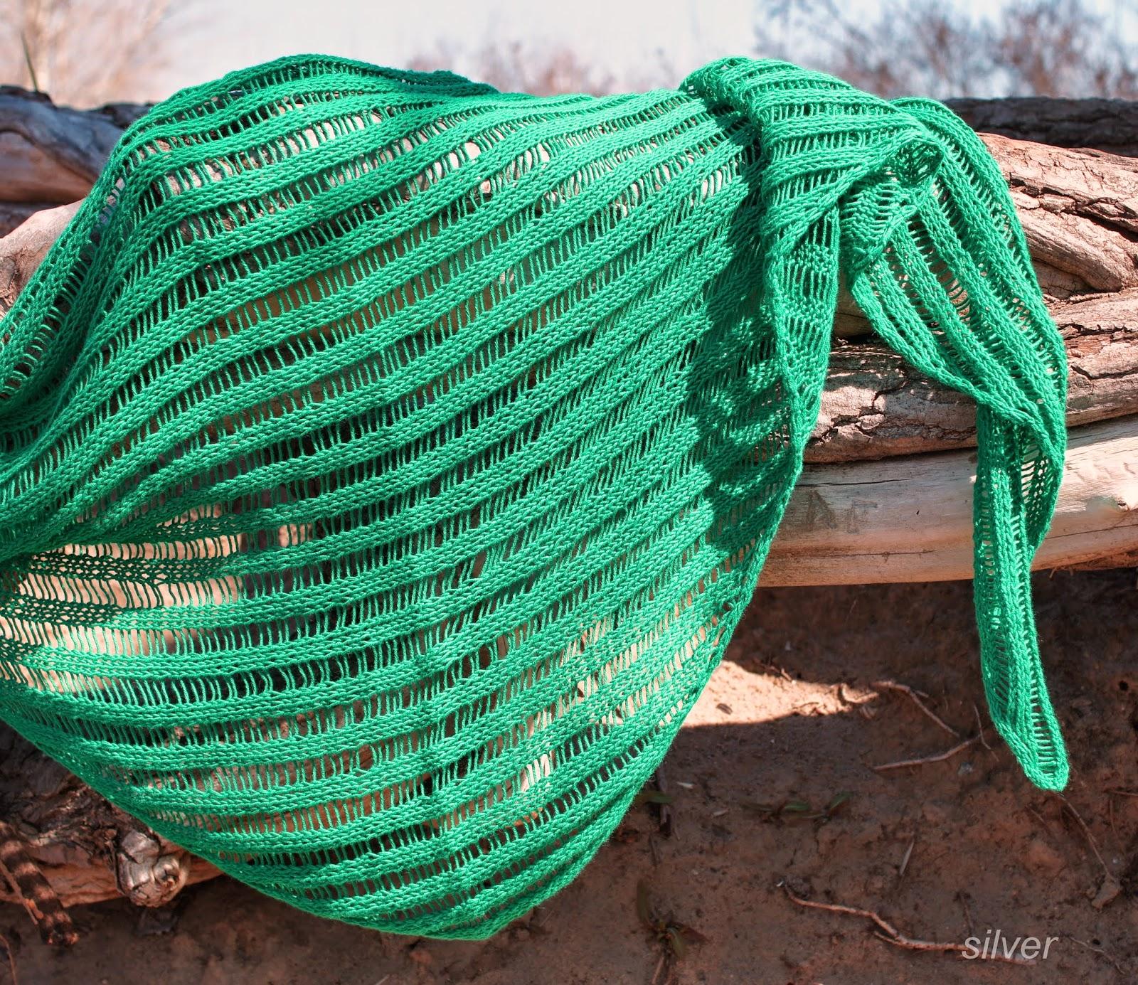 бактус зеленый спущенные петли
