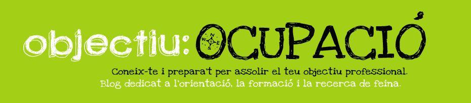 Objectiu: ocupació