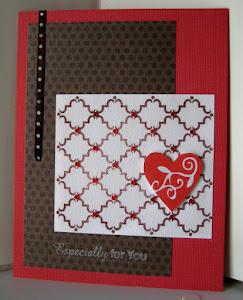 embellished valentine