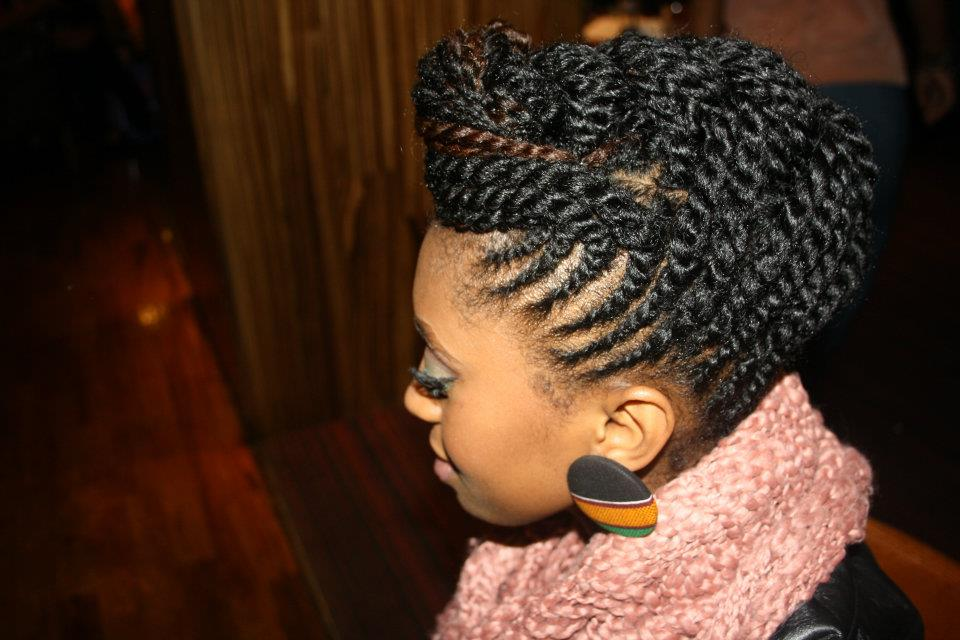 Black Updo Hair Styles: Protective Styling
