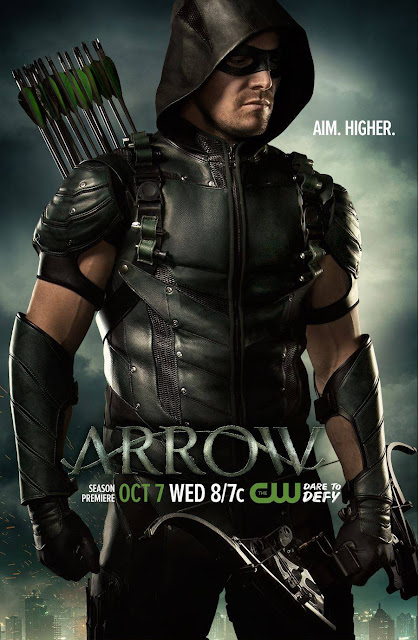 Arrow Season 4 Teaser One Sheet Television Poster - Stephen Amell as Green Arrow