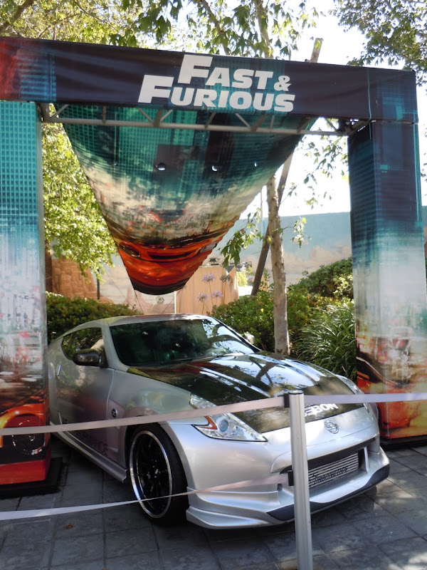 Fast Five Nissan 370Z movie car