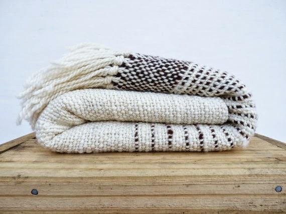 wool blanket handmade Etsy