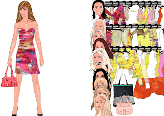 Celebrity design and dress up