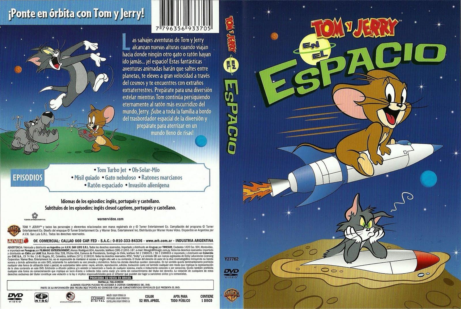 peliculas y juegos ps2: Tom Y Jerry en El Espacio