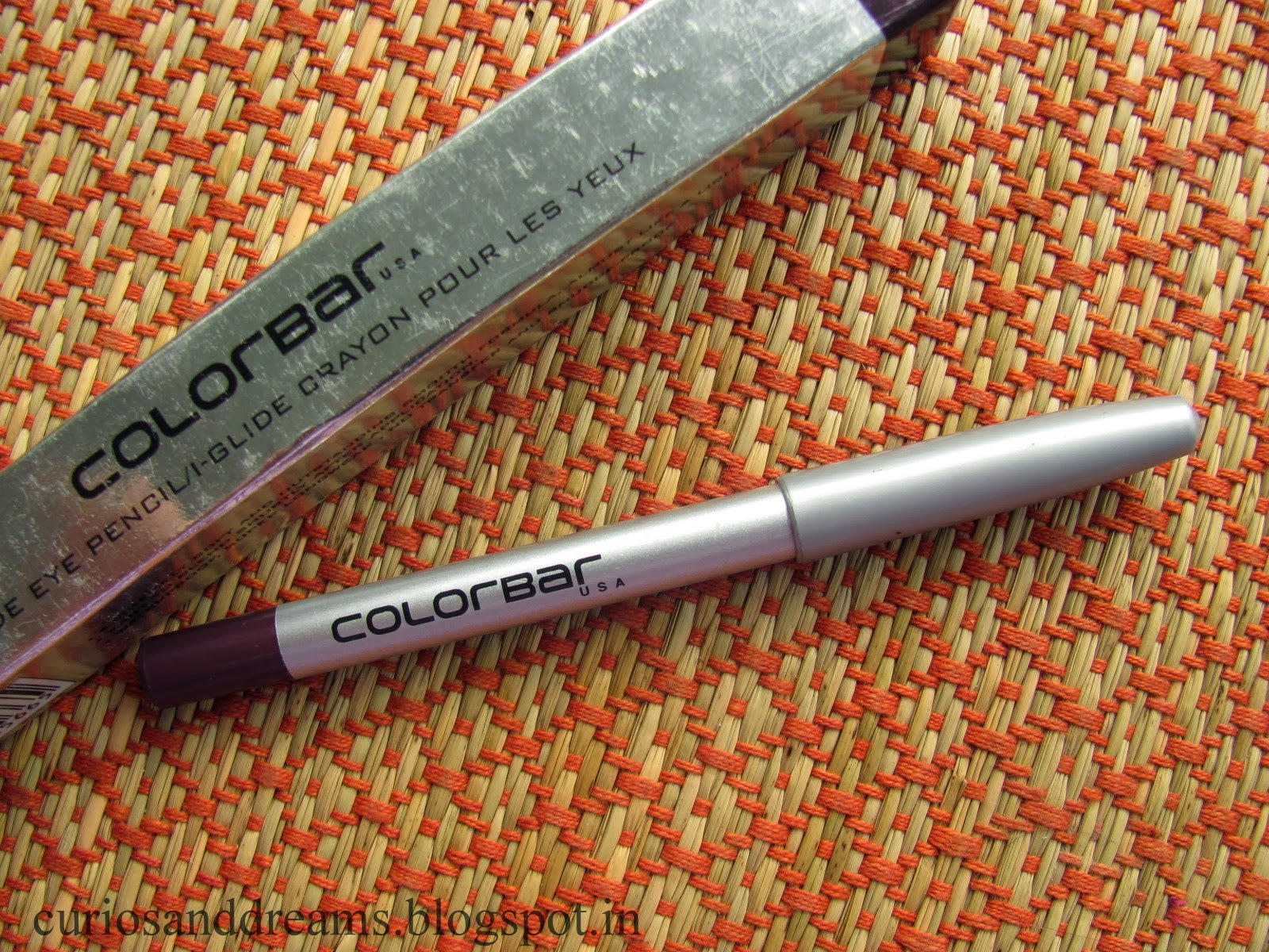 Colorbar I-Glide Eye Pencil Prunella Review