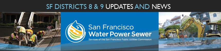 San Francisco Water Power & Sewer Districts 8 & 9 News & Updates