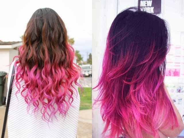 Brown and pink hair  plpinterestcom