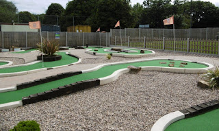 Photo of the Minigolf course at Charnwood Golf Complex in Loughborough
