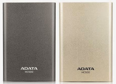 ADATA Launched HC500 External HDD for TV Program Recording
