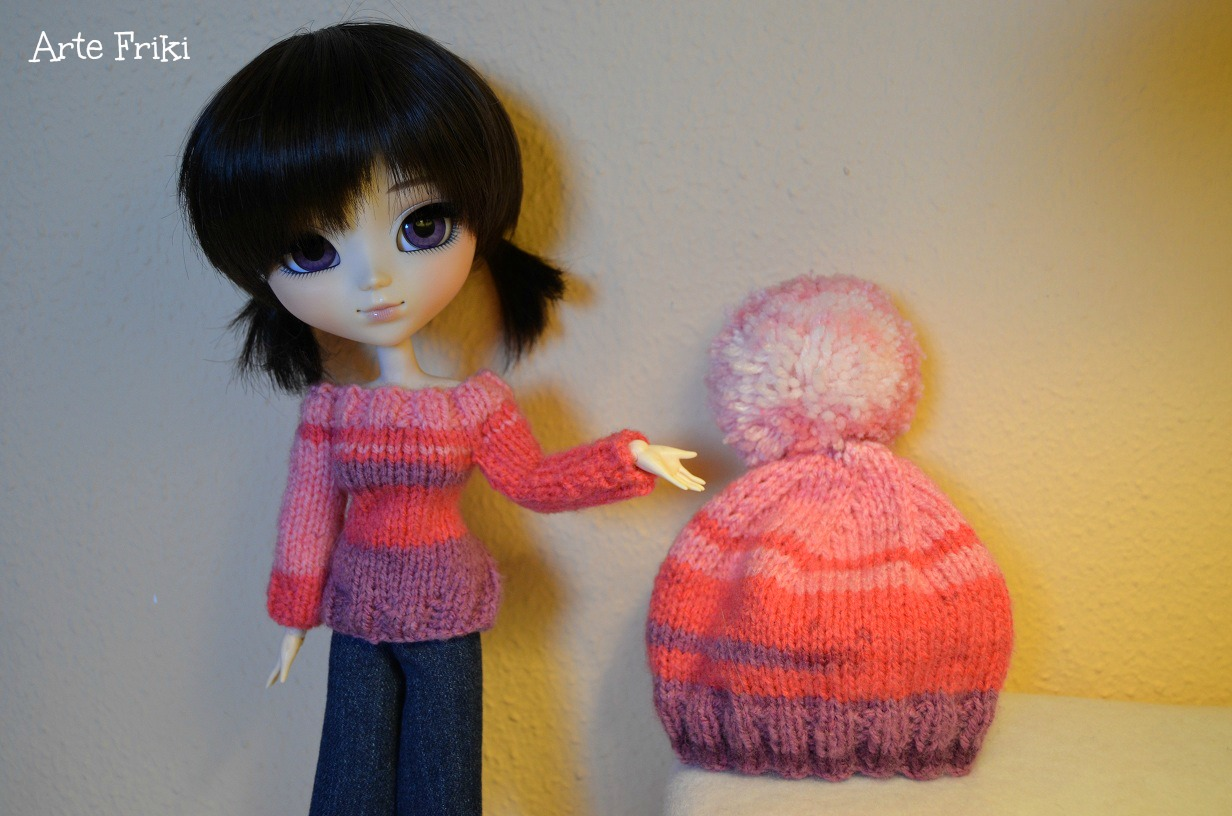 jersey sweater cardigan pullip blythe barbie