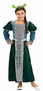Shrek Forever After-Deluxe Fiona Toddler Costume