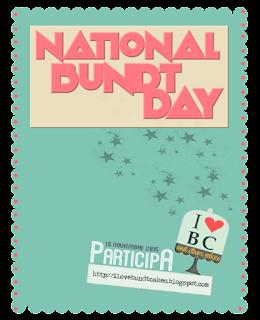 National Bundt Cake Day 2015