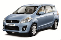 Photo: Maruti Suzuki Ertiga Front Side Exterior View