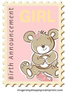 oso de peluche para niña