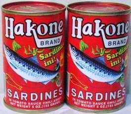 Hakone Sardines