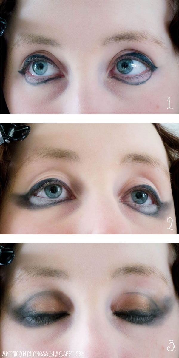 V303 How To Create Flapper Doll Eye Makeup American Duchess