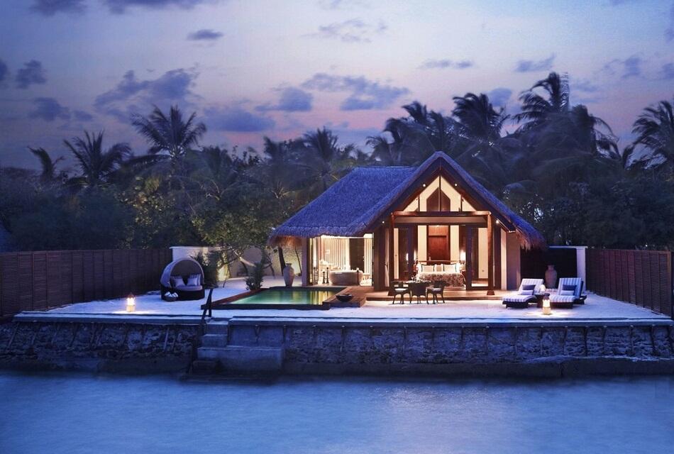 Taj Exotica Resort And Spa Is A Beautiful 5–star Island Resort In