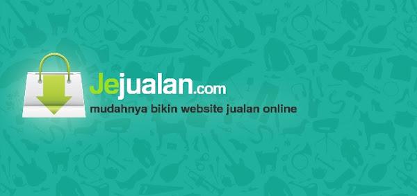 Buat Toko Online Profesional Anda bersama Jejualan.com