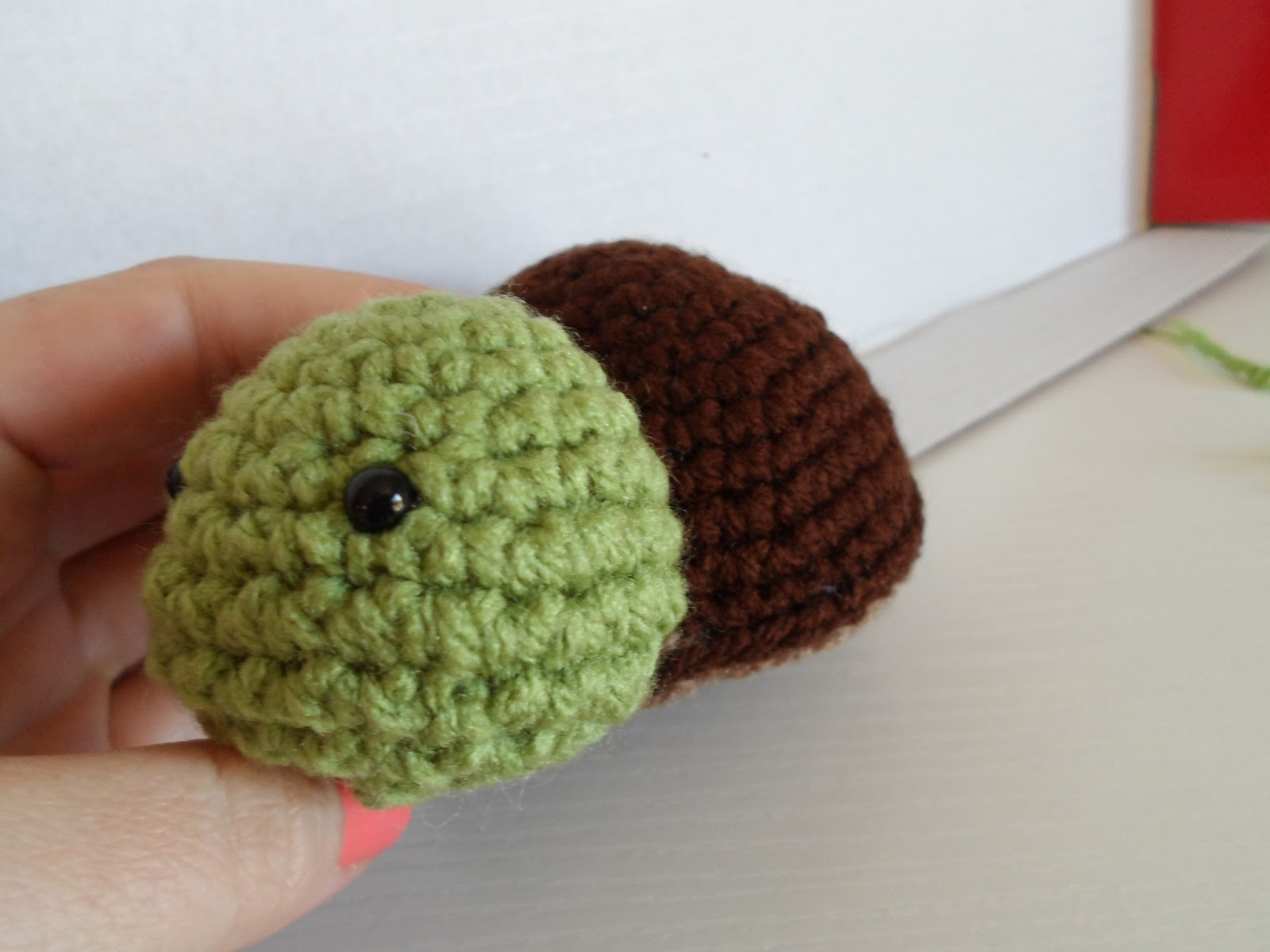 Small Turtle Crochet Pattern