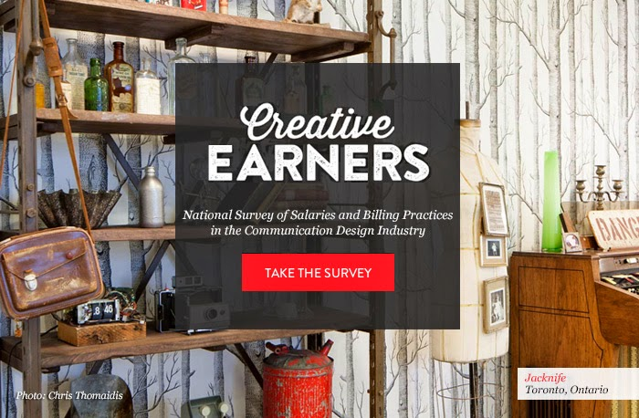 Creative Earners National Survey of Salaries and Billing Practices in the Communication Design Industry. Take the survey